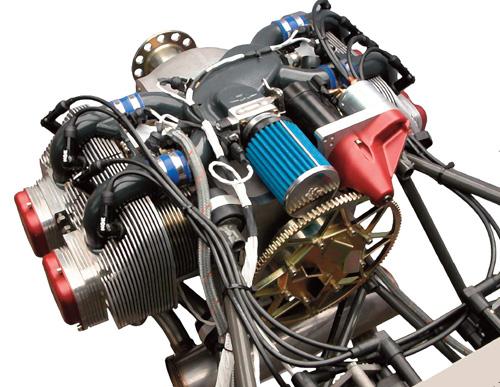 Motor de piston Rotax