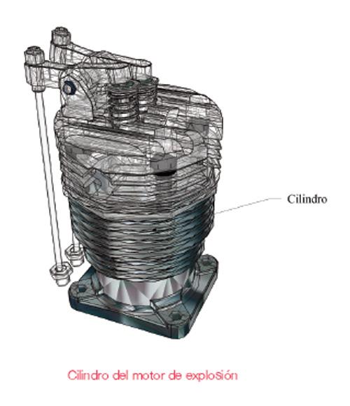 cilindro del motor de explosion