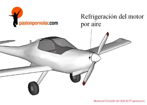 refrigeracion-motor-por aire
