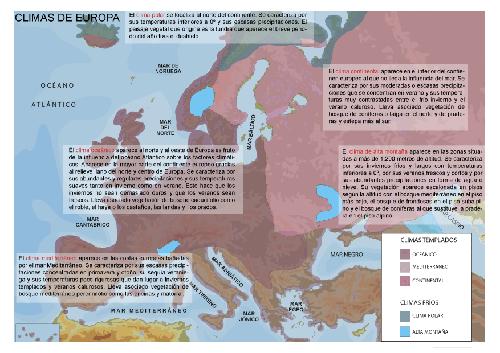 climas-en-europa