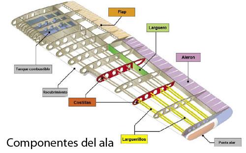 componentes-del-ala
