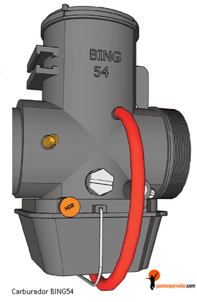carburador bing-54